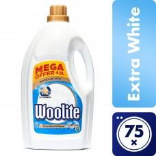 Woolite Extra White Brilliance s keratinem tekutý prací prostředek na bílé prádlo, 75 praní