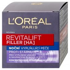 L'Oréal Paris Revitalift Filler, noční krém proti vráskám