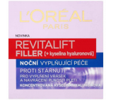 L'Oréal Paris Revitalift Filler noční krém proti vráskám