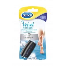 Scholl Velvet Smooth Wet & Dry rotační hlavice 2 ks