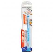 Elmex Cvičný zubní kartáček 0-3 roky a dětská zubní pasta