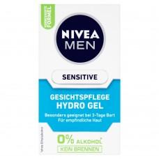 NIVEA Pleťový gel Sensitive pro muže