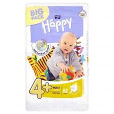 Bella Baby Happy 4+ Maxi plus jednorázové plenky 9-20 kg