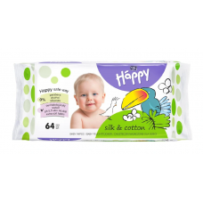 Bella Baby Happy vlhčené ubrousky Hedvábí & Bavlna