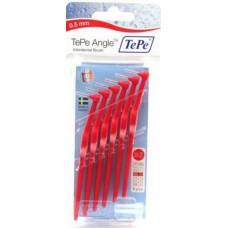 TEPE mezizubní kartáčky ANGLE 0,5 mm červený