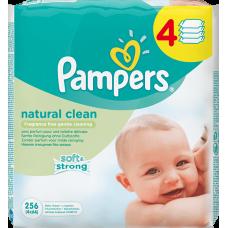 Pampers Natural Clean čisticí ubrousky