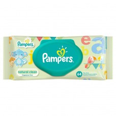 Pampers Ubrousky Natural Clean