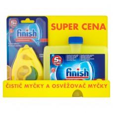 Finish Citrón čistič myčky  + Deo Citrón osvěžovač