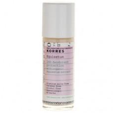Korres 24hodinový roll-on deodorant s přesličkou pro citlivou pokožku