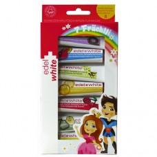 Edel+White 7 ovocných zubních past pro děti