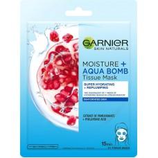 Garnier Moisture&Aqua Bomb superhydratační textilní maska