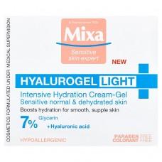 MIXA Hyalurogel Light hydratační krém na obličej
