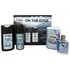 On The Edge - voda po holení 50 ml + deodorant ve spreji 150 ml + sprchový gel 250 ml