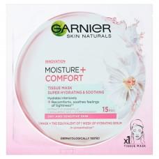 Garnier Moisture + Comfort superhydratační textilní maska