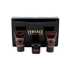 Versace Crystal Noir toaletní voda + tělové mléko + sprchový gel