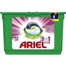 Ariel 3v1 Touch of Lenor kapsle, 14 praní