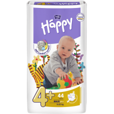 Bella Happy Maxi Plus 4+ pleny, 9-20 kg