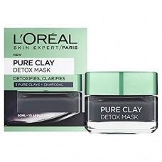 L'Oréal Paris Pure Clay intenzivní čisticí rozjasňující maska