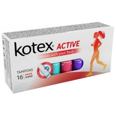 KOTEX® Active Super tampony