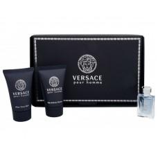 Versace Pour Homme EDT + sprchový gel + balzám po holení