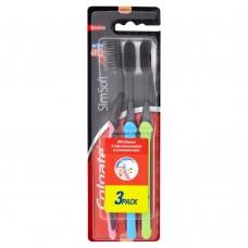 Colgate Charcoal Slim Soft zubní kartáček