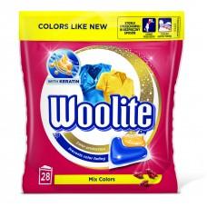 Woolite Mix Colors kapsle, 28 praní