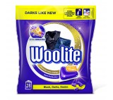 Woolite Black, Darks, Denim gelové kapsle, 28 praní