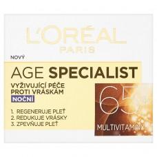 L'Oréal Paris Age Specialist 65+ vyživující noční krém