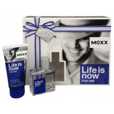 Mexx Life Is Now For Him EDT + sprchový gel
